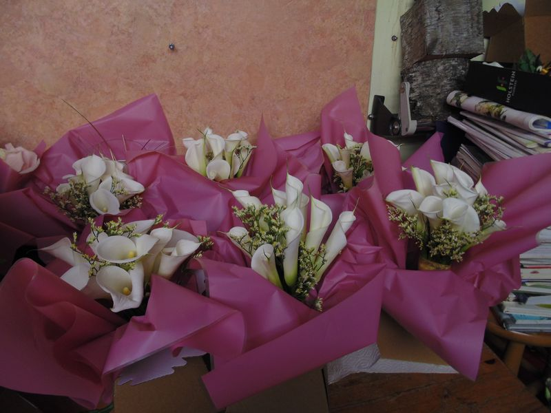 wedding flower arrangement 155
