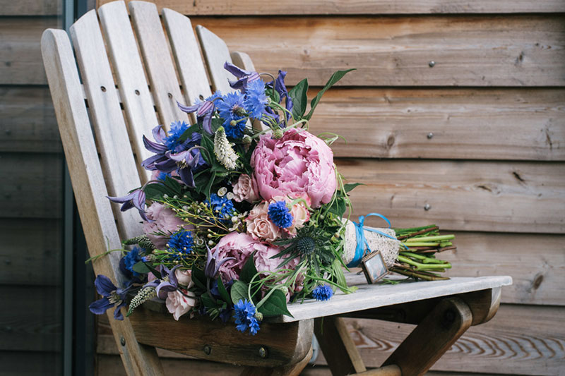 wedding flower arrangement - July16
