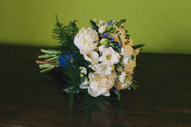 wedding flower arrangement, Isobel and Douglas 3