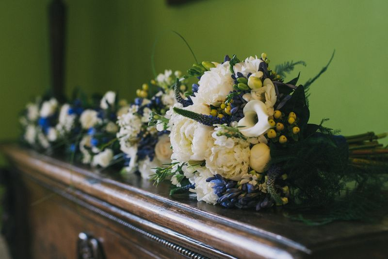 wedding flower arrangement, Isobel and Douglas 4